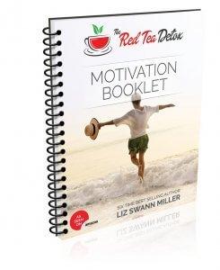 The Red Tea Detox Motivation Booklet