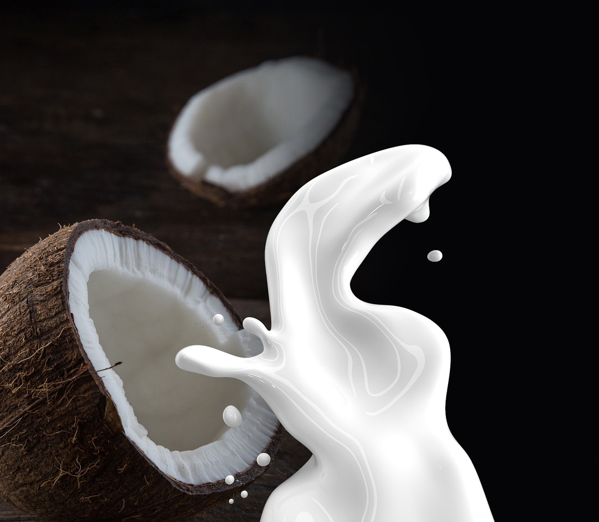 Natural Homemade Hair Conditioners. coconut. coconut milk. www.blisslife.in