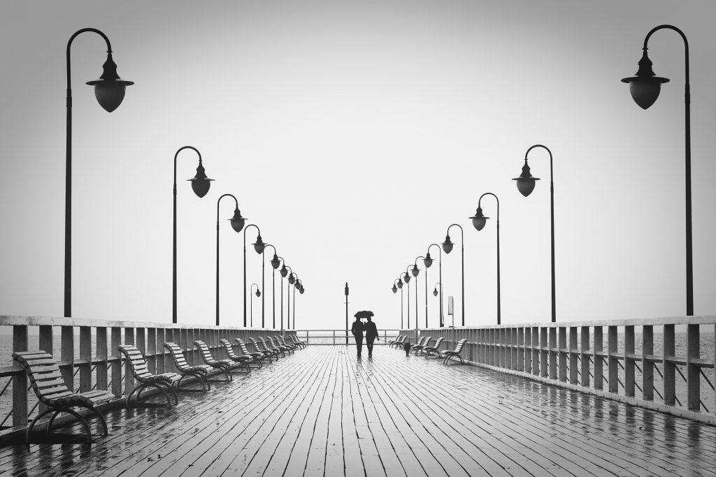 Relationship Break. couple walking. couple under umbrella. love birds. www.blisslife.in