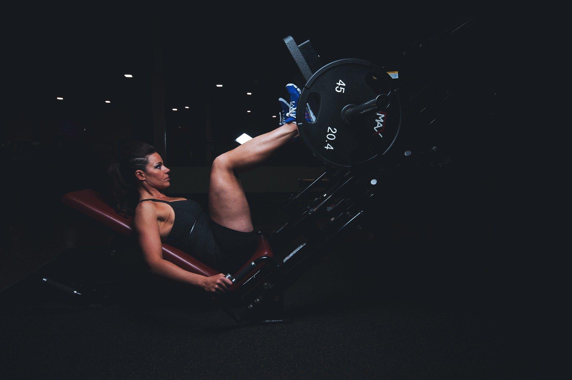 Lower Myostatin Levels. woman. athlete. dark. exercise. gym. www.blisslife.in