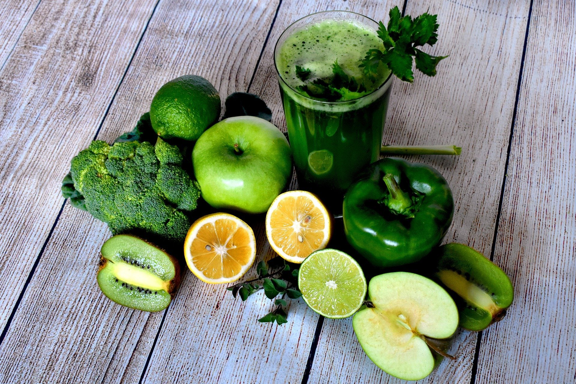Increase Glutathione Naturally. veggies. green. vegetable juice. green fruits. fruits. www.blisslife.in