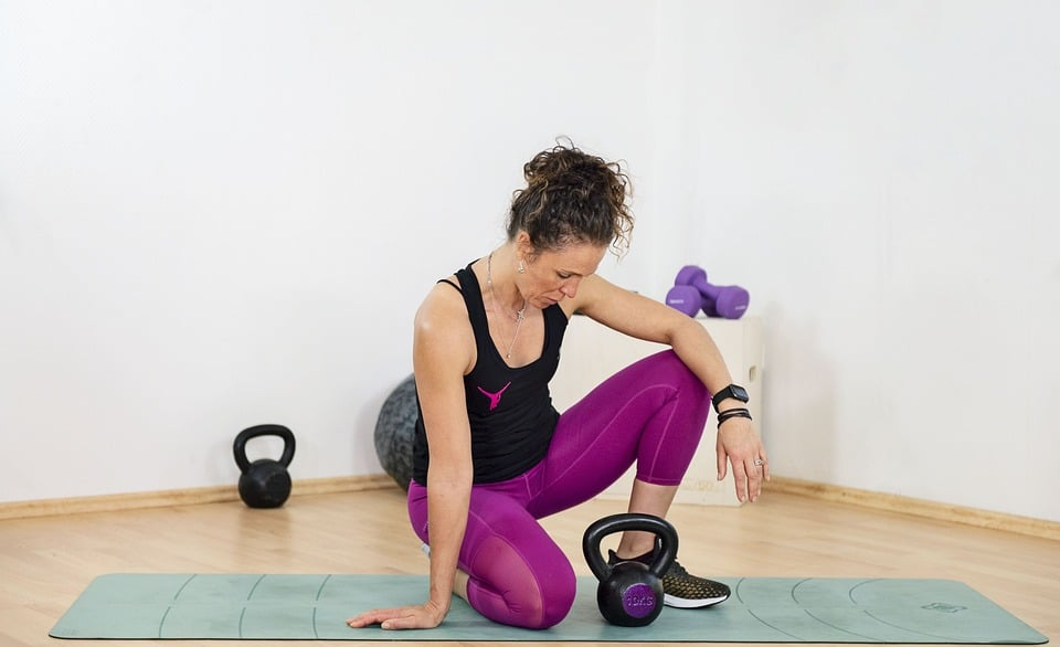 Deal With Cabin Fever Symptoms.exercise.fitness. workout.woman.home gym. www.blisslife.in