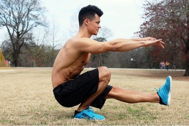 Fat Loss Workout for the Legs and Thighs