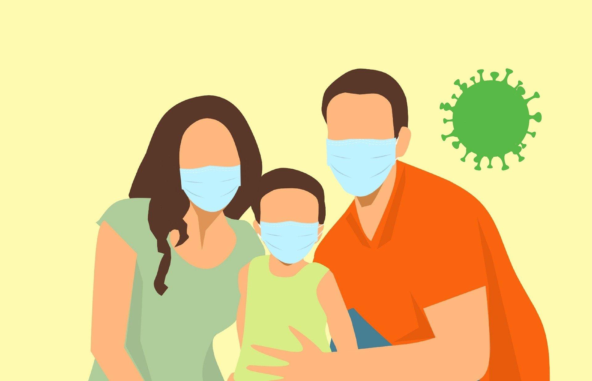 covid-19 vaccine. mask. coronavirus. covid. corona. family. www.blisslife.in