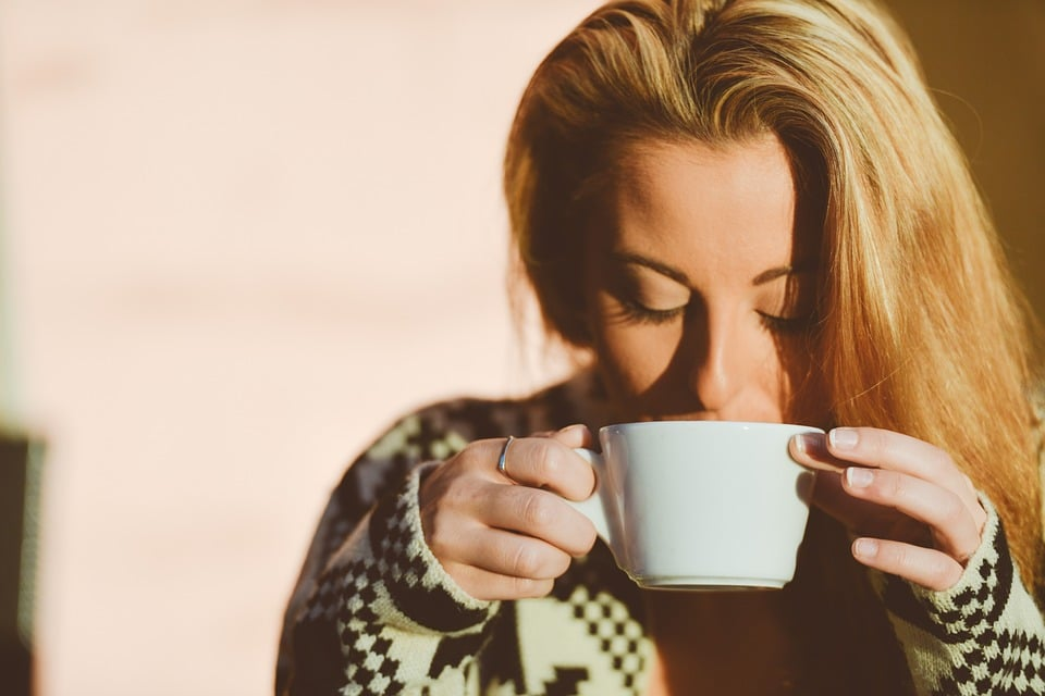 Health Benefits of Coffee. coffee cup. woman. drinking coffee cup. www.blisslife.in